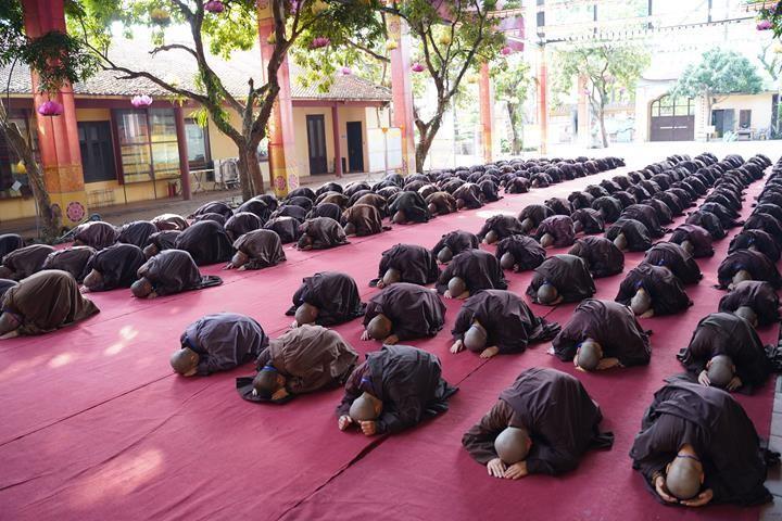 Hà Nội: Trang nghiêm khai mạc Đại giới đàn Phật lịch 2565 ảnh 23