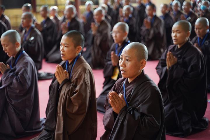 Hà Nội: Trang nghiêm khai mạc Đại giới đàn Phật lịch 2565 ảnh 24
