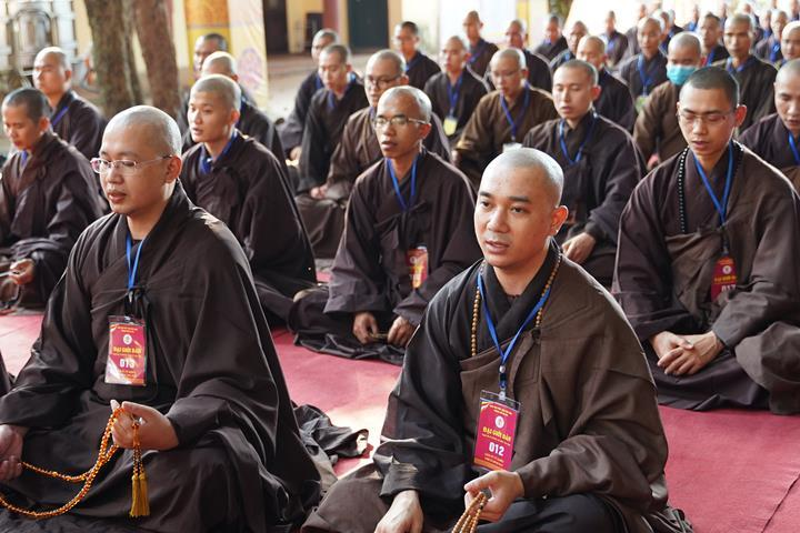 Hà Nội: Trang nghiêm khai mạc Đại giới đàn Phật lịch 2565 ảnh 30