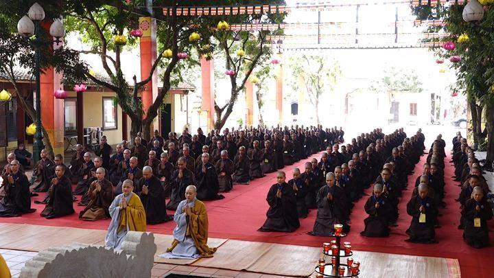Hà Nội: Trang nghiêm khai mạc Đại giới đàn Phật lịch 2565 ảnh 4