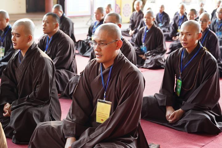 Hà Nội: Trang nghiêm khai mạc Đại giới đàn Phật lịch 2565 ảnh 32