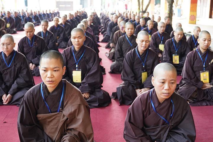 Hà Nội: Trang nghiêm khai mạc Đại giới đàn Phật lịch 2565 ảnh 34