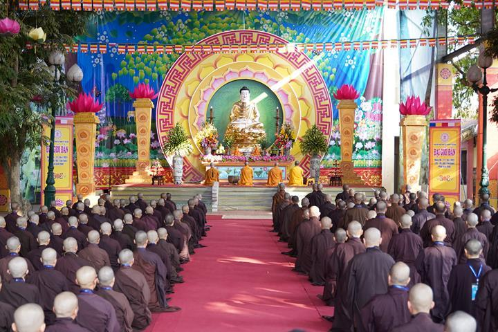 Hà Nội: Trang nghiêm khai mạc Đại giới đàn Phật lịch 2565 ảnh 35