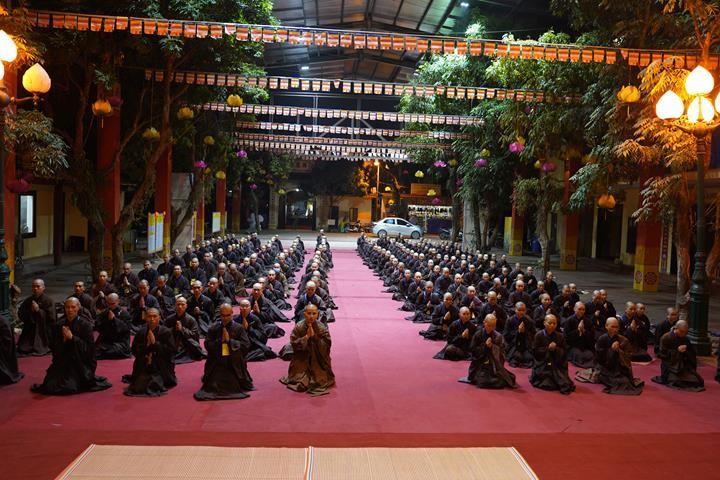 Hà Nội: Trang nghiêm khai mạc Đại giới đàn Phật lịch 2565 ảnh 38