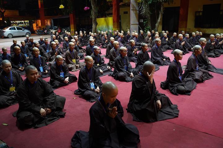 Hà Nội: Trang nghiêm khai mạc Đại giới đàn Phật lịch 2565 ảnh 40