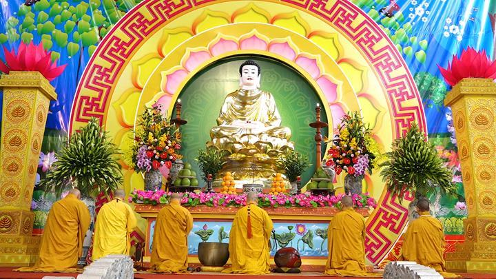 Hà Nội: Trang nghiêm khai mạc Đại giới đàn Phật lịch 2565 ảnh 5