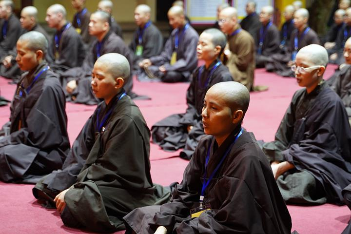 Hà Nội: Trang nghiêm khai mạc Đại giới đàn Phật lịch 2565 ảnh 43