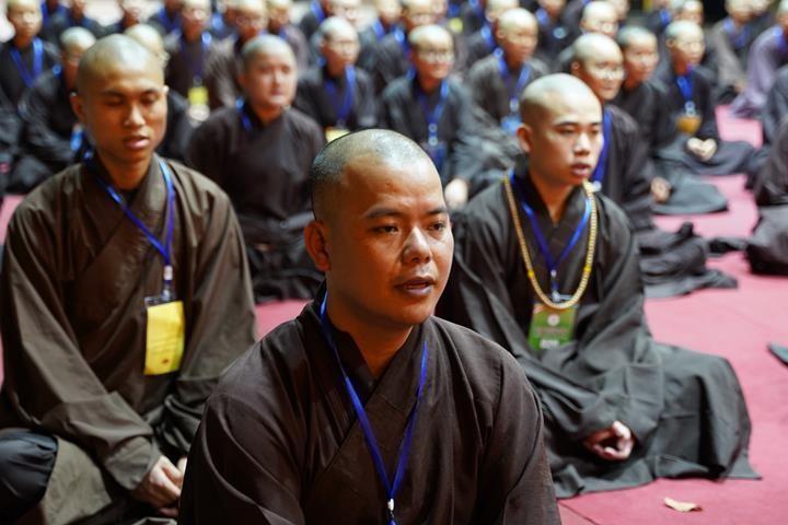 Hà Nội: Trang nghiêm khai mạc Đại giới đàn Phật lịch 2565 ảnh 45