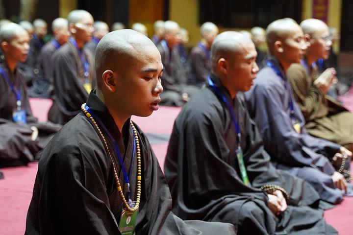 Hà Nội: Trang nghiêm khai mạc Đại giới đàn Phật lịch 2565 ảnh 46
