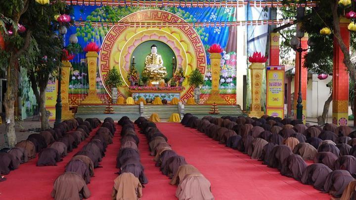 Hà Nội: Trang nghiêm khai mạc Đại giới đàn Phật lịch 2565 ảnh 6