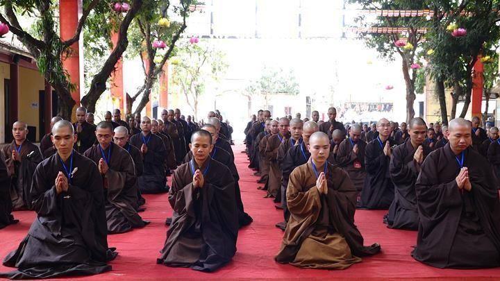 Hà Nội: Trang nghiêm khai mạc Đại giới đàn Phật lịch 2565 ảnh 7