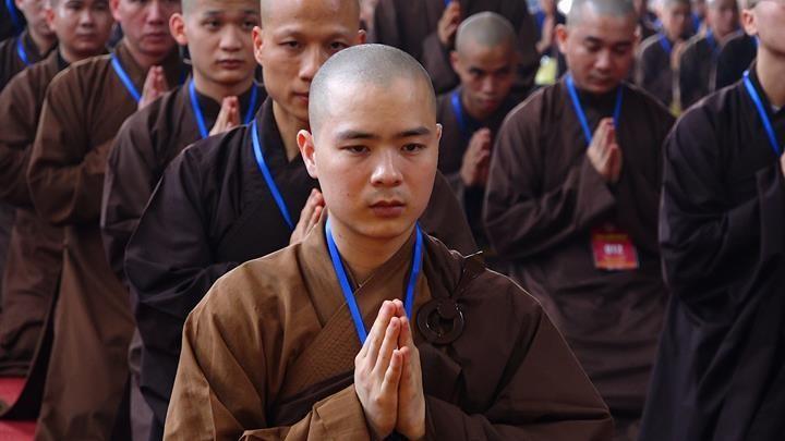 Hà Nội: Trang nghiêm khai mạc Đại giới đàn Phật lịch 2565 ảnh 8