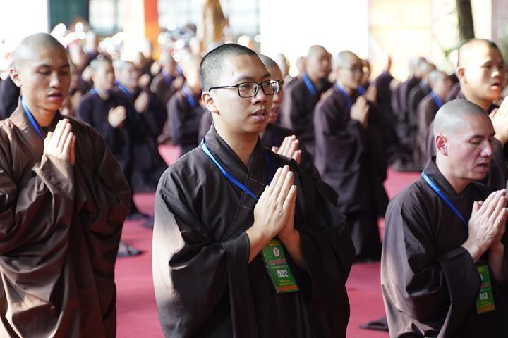 Hà Nội: Trang nghiêm khai mạc Đại giới đàn Phật lịch 2565 ảnh 9