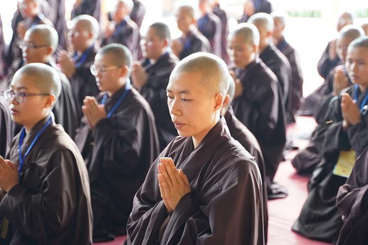 Hà Nội: Trang nghiêm khai mạc Đại giới đàn Phật lịch 2565 ảnh 10