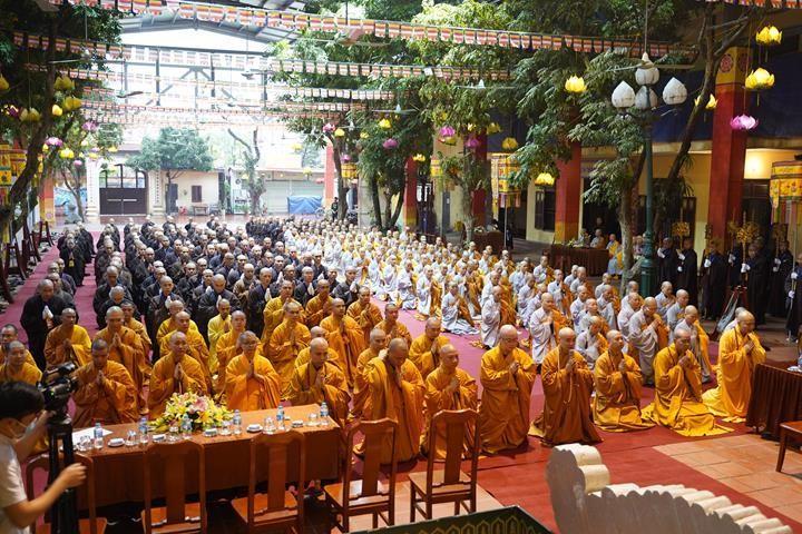 Chính thức truyền giới tại Đại giới đàn Hà Nội Phật lịch 2565 ảnh 7
