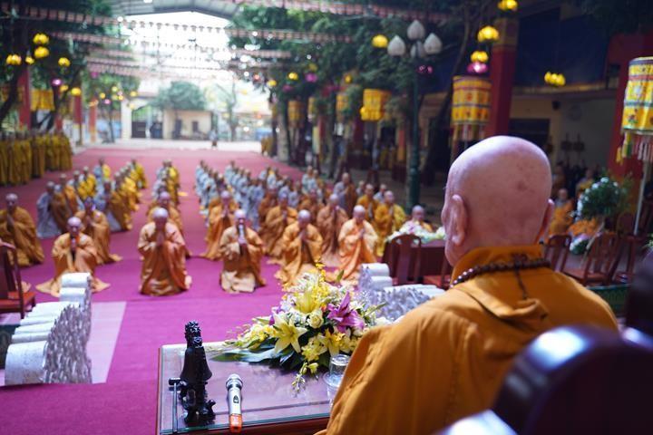 Chính thức truyền giới tại Đại giới đàn Hà Nội Phật lịch 2565 ảnh 98