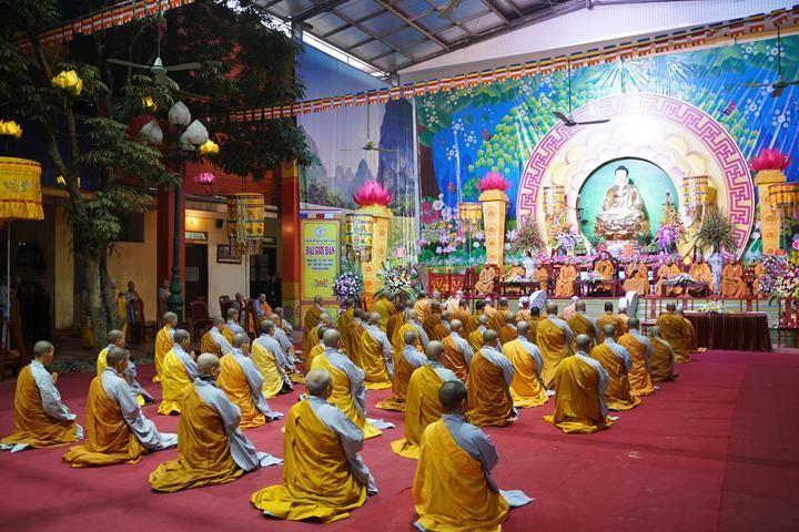 Chính thức truyền giới tại Đại giới đàn Hà Nội Phật lịch 2565 ảnh 102