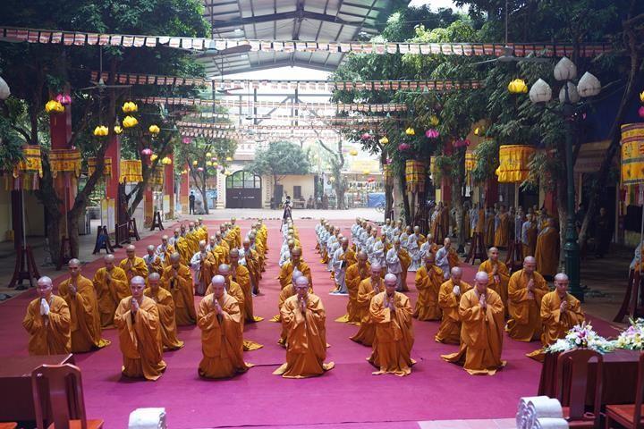 Chính thức truyền giới tại Đại giới đàn Hà Nội Phật lịch 2565 ảnh 103