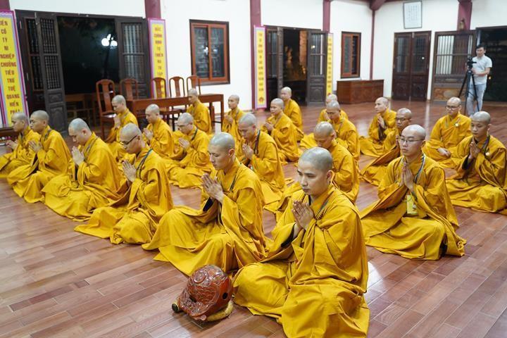 Chính thức truyền giới tại Đại giới đàn Hà Nội Phật lịch 2565 ảnh 107