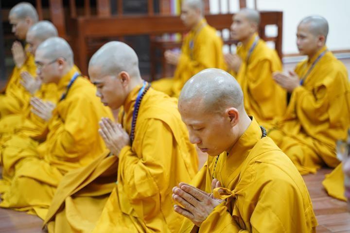 Chính thức truyền giới tại Đại giới đàn Hà Nội Phật lịch 2565 ảnh 108