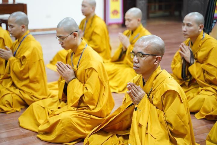 Chính thức truyền giới tại Đại giới đàn Hà Nội Phật lịch 2565 ảnh 109