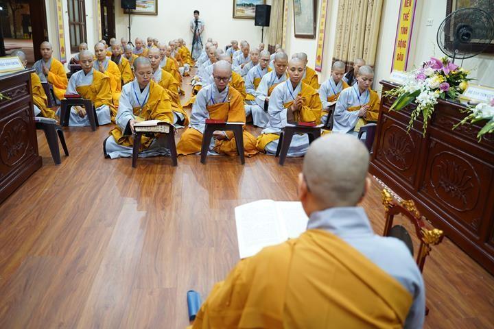 Chính thức truyền giới tại Đại giới đàn Hà Nội Phật lịch 2565 ảnh 111