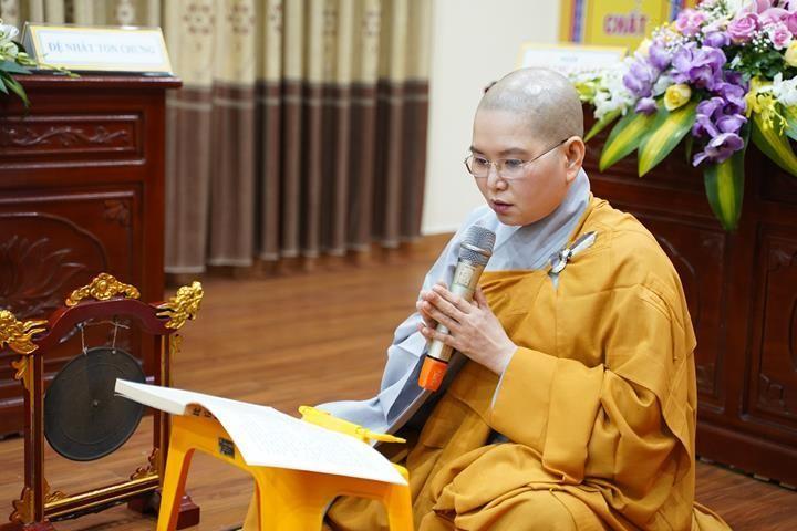 Chính thức truyền giới tại Đại giới đàn Hà Nội Phật lịch 2565 ảnh 112