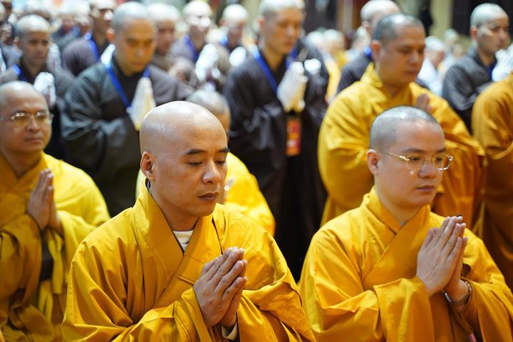 Chính thức truyền giới tại Đại giới đàn Hà Nội Phật lịch 2565 ảnh 10