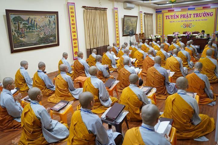 Chính thức truyền giới tại Đại giới đàn Hà Nội Phật lịch 2565 ảnh 114