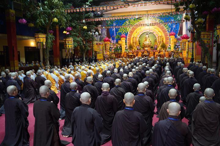 Chính thức truyền giới tại Đại giới đàn Hà Nội Phật lịch 2565 ảnh 14