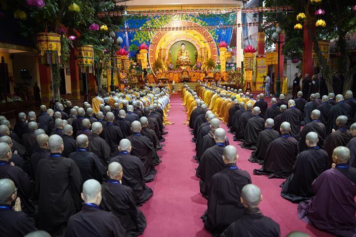 Chính thức truyền giới tại Đại giới đàn Hà Nội Phật lịch 2565 ảnh 20