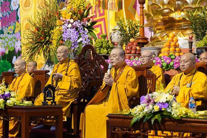 Chính thức truyền giới tại Đại giới đàn Hà Nội Phật lịch 2565 ảnh 22