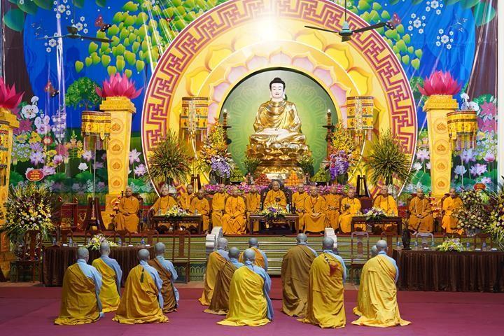 Chính thức truyền giới tại Đại giới đàn Hà Nội Phật lịch 2565 ảnh 24