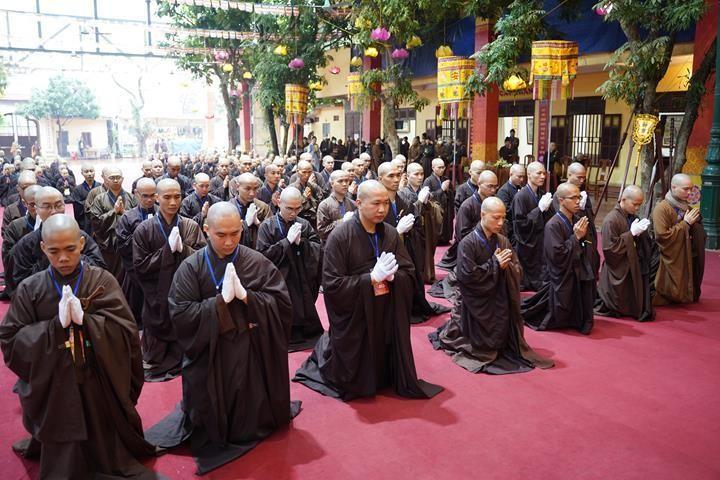 Chính thức truyền giới tại Đại giới đàn Hà Nội Phật lịch 2565 ảnh 27