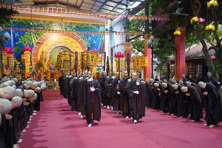 Chính thức truyền giới tại Đại giới đàn Hà Nội Phật lịch 2565 ảnh 33