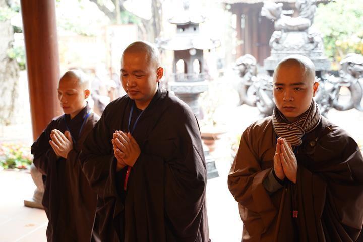 Chính thức truyền giới tại Đại giới đàn Hà Nội Phật lịch 2565 ảnh 37