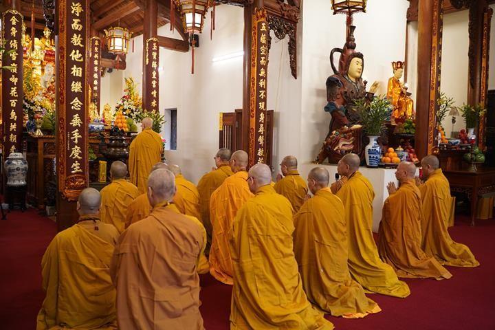 Chính thức truyền giới tại Đại giới đàn Hà Nội Phật lịch 2565 ảnh 38