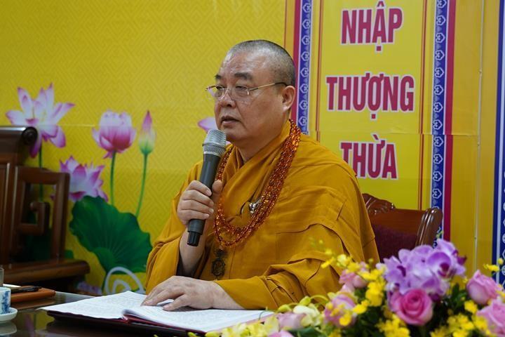 Chính thức truyền giới tại Đại giới đàn Hà Nội Phật lịch 2565 ảnh 45