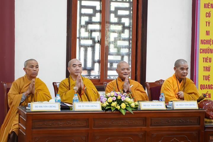 Chính thức truyền giới tại Đại giới đàn Hà Nội Phật lịch 2565 ảnh 49