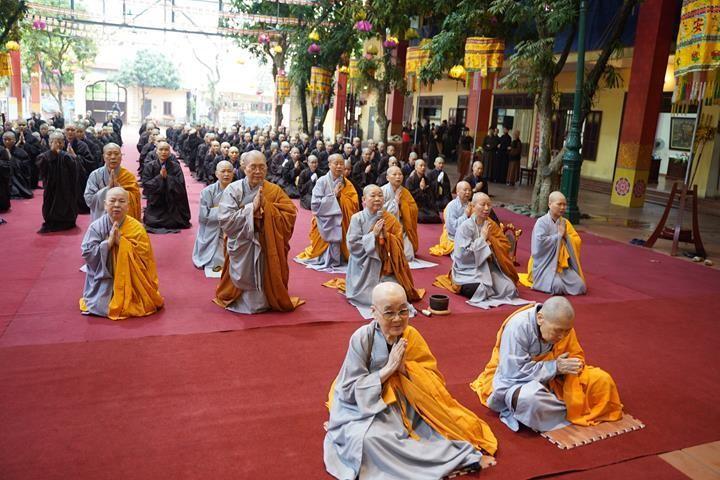 Chính thức truyền giới tại Đại giới đàn Hà Nội Phật lịch 2565 ảnh 52