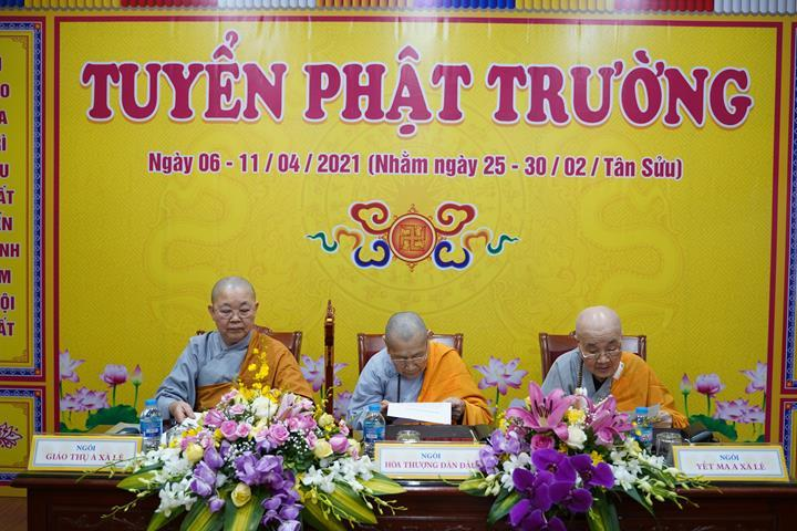 Chính thức truyền giới tại Đại giới đàn Hà Nội Phật lịch 2565 ảnh 54