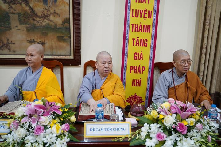 Chính thức truyền giới tại Đại giới đàn Hà Nội Phật lịch 2565 ảnh 56