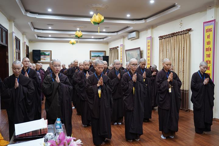 Chính thức truyền giới tại Đại giới đàn Hà Nội Phật lịch 2565 ảnh 57