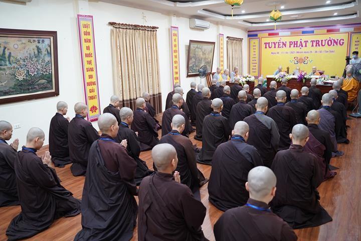 Chính thức truyền giới tại Đại giới đàn Hà Nội Phật lịch 2565 ảnh 60