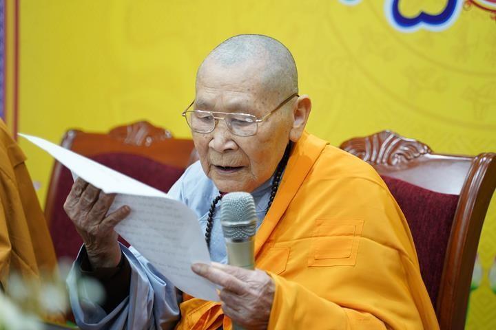 Chính thức truyền giới tại Đại giới đàn Hà Nội Phật lịch 2565 ảnh 61