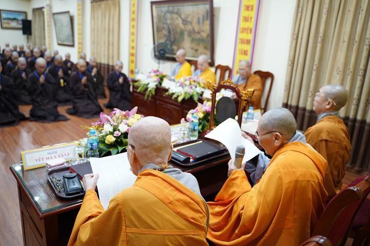 Chính thức truyền giới tại Đại giới đàn Hà Nội Phật lịch 2565 ảnh 62