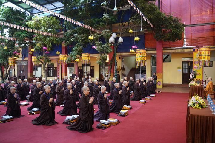 Chính thức truyền giới tại Đại giới đàn Hà Nội Phật lịch 2565 ảnh 63