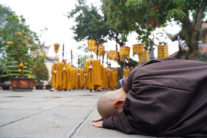 Chính thức truyền giới tại Đại giới đàn Hà Nội Phật lịch 2565 ảnh 65