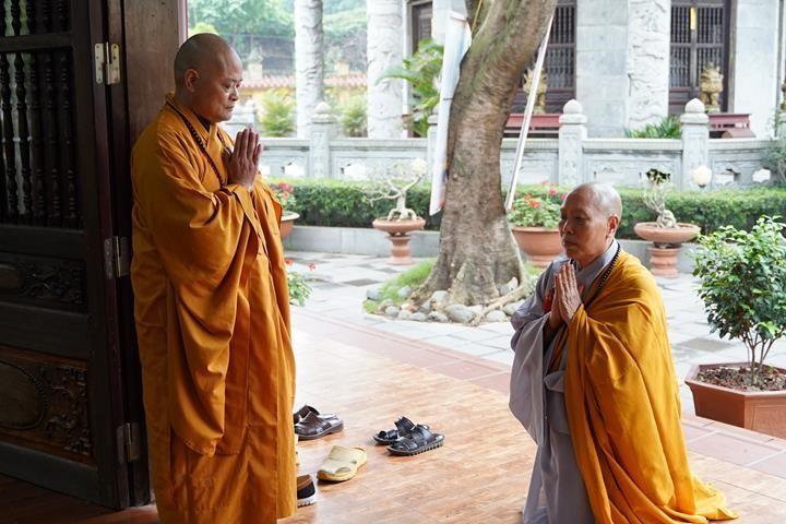 Chính thức truyền giới tại Đại giới đàn Hà Nội Phật lịch 2565 ảnh 67