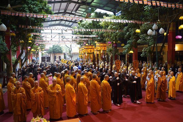 Chính thức truyền giới tại Đại giới đàn Hà Nội Phật lịch 2565 ảnh 4